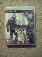 Crysis 2 -- Limited Edition (Sony PlayStation 3, 2011)   PLAYS GREAT