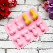 Adult Men Penis Silicone Ice Cube Mold Cookie Cake Candy Chocolate Soap Molds