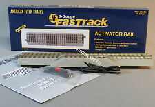 LIONEL AMERICAN FLYER FASTRACK  ACTIVATOR RAIL S Gauge AF 2 rail train 6-49085