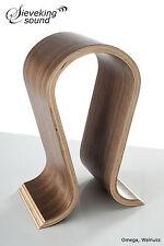 Sieveking Sound Omega Kopfhörerständer Walnus Walnut Headphone stands