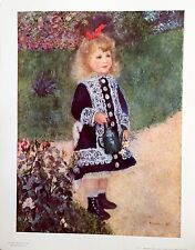 AMAZING ORIGINAL RENOIR LITHOGRAPH PRODUCED BY NATIONAL GALLERY OF ART