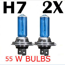 NEW 2pcs H7 XENON HALOGEN BULB 5000K Car Super White Light Bulbs 12V 55W CA