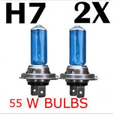 NEW 2pcs H7 XENON HALOGEN BULB 5000K Car Super White Light Bulbs 12V 55W CA