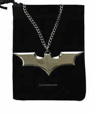 BATMAN DC Comics Marvel Superhero Dark Knight Bat Chain Pendant Necklace Silver