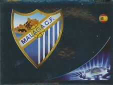 N°210 ESCUDO BADGE # ESPANA MALAGA.CF CHAMPIONS LEAGUE 2013 STICKER PANINI