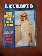 L'EUROPEO RIVISTA SETTIMANALE 1966 n°50  anno XXII