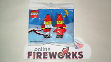 1991 Lego #1980 Exclusive Holiday Christmas Santa's Elves Set, New Sealed, Poly