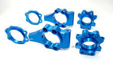 Alloy Rear Hub Carrier Fit HPI Baja 5B/5B SS/5T Blue