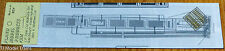 Plano #304 (HO Scale)Photo-Etched Freight Car Walkways -- Fits Walthers 65' LPG/