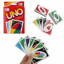 Standard 108 UNO Playing Cards Game For Family Friend Travel Instruction Fun USA