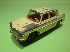 DINKY TOYS 62 RENAULT R8 - YELLOW 1:43 - GOOD CONDITION