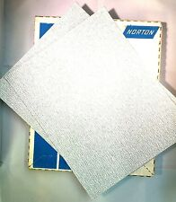 Norton #01835-9 9X11 150A Grit No-Fil Durite Emery paper Pack of 10