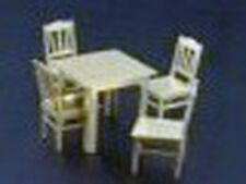 Brengun BRL72013 1:72 Photo Etch Table and Four Chairs