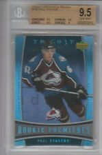 BGS 9.5 PAUL STASTNY 2006/07 Upper Deck Trilogy ROOKIE Card BLUES!