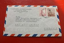 *Brief Beleg - Boliviennach Deutschland - Salzgitter 50-er Jahre (84)
