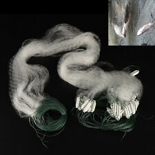 1 X Fishing Net with Float Monofilament Gill Fishing Network Fish Trap KFO