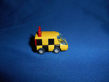 Mini FOLLOW-ME CAR Airport Vehicle CHECKERBOARD TRUCK Plastic Kinder Surprise