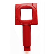 NEW 2 x GENT FIRE ALARM CALL POINT TEST KEY (NEW STYLE) - FREE SHIPPING