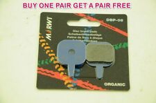 MARWI UNION ORGANIC DISC BRAKE PADS TEKTRO MECHANICAL CALIPERS 1+1 FREE DBP-08