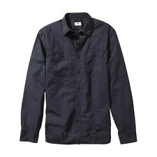 NWT Old Navy Men's Slim-Fit 100% Cotton Poplin Button Shirt Front Pocket Style