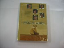 FESTA DI LAUREA - DVD SIGILLATO - PUPI AVATI - AURORE CLEMENT - NIK NOVECENTO