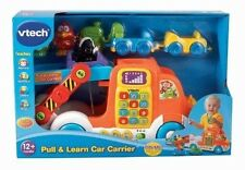 VTech Pull & Learn Car Carrier NIB Animals Colors Numbers Music new in box