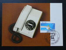 telephone 1980 maximum card Belgium 70460