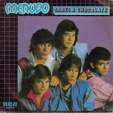 MENUDO-SABES A CHOCOLATE + YO NO FUI SINGLE VINILO 1984 PROMOCIONAL SPAIN