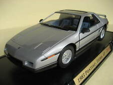 Pontiac Fiero GT 1985, Silver, 1:18 by Road Signatures - New in Box!