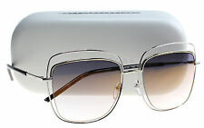 New Marc Jacobs Sunglasses Women MJ 9/S Silver 0TWM FQ MJ9/S 54mm
