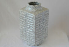 Chinese grey porcelain Square vase with mark