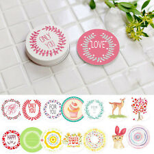NEW Fresh Love Only For You Diary Scrapbooking Baking Sticker Gift Tags 38PCs CN