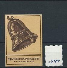 wbc. - CINDERELLA/POSTER - CF64 - EUROPE - VIENNA INT. FAIR - 1925
