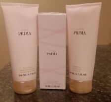 AVON PRIMA  3 Piece Gift Set PERFUME BODY LOTION SHOWER GEL Full size NEW SEALED