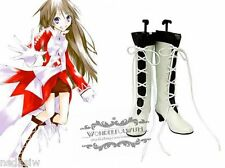 Xmas Pandora Hearts Women Heel Boots Cosplay Alice Lace Up NEW shoes C-12