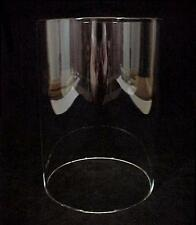 Cylinder Tube Light Lamp Shade 5 X 7 Candle Holder Clear Glass Wall Sconce New