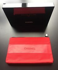 CHANEL ~CHANEL~ ROUGE ALLURE INK~ RED MAKEUP Cosmetic Bag / Pouch ~ New With Box