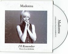 Madonna I'll Remember Australian Card Sleeve CD Single Up for Grabs, Cranberries