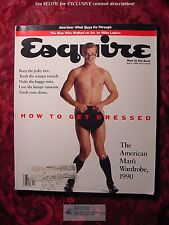ESQUIRE magazine March 1990 GARRY MARSHALL JULIE BROWN