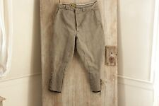 Vintage French pants Riding hunting 34 Waist gray work wear chore old trouser