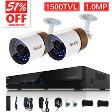 ELEC® 4CH 960H HDMI DVR 1500TVL CCTV Video Recorder Home Security Camera System