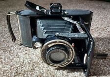 Voigtlander Bessa Folding Camera Braunschweig Vintage Film Cased Bellows