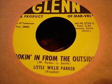 Northern Soul Doowop LITTLE WILLIE PARKER Lookin' In From Outside GLENN 2700 M-