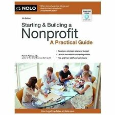 Starting & Building a Nonprofit: A Practical Guide by Pakroo, Peri