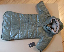 UGG Baby Snowsuit Tohono Bunting Size 6-12M Olive Green NEW