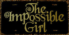 Doctor Who Impossible Girl License Plate Clara Oswald Car Tag