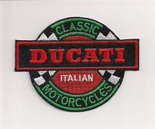 "Ducati motorcycle 3.75"" patch. NICE NEW"