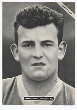 TREVOR SMITH BIRMINGHAM CITY 1953-1965 RARE ORIGINAL HAND SIGNED MAG CUTTING