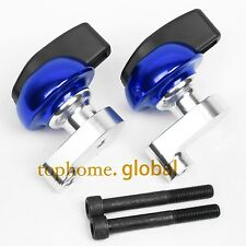 CNC Frame Sliders Crash Pads Left Right For Suzuki GSXR1000 2007-2008 K7 K8 Blue
