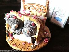 ME TO YOU FIGURINE VERY RARE BED OF ROSES BOXED WITH CERTIFICATE OF AUTHENTICITY